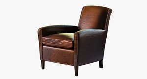 obj chair restoration hardware gerrard