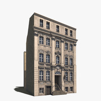 3d model of residential house berlin kleine