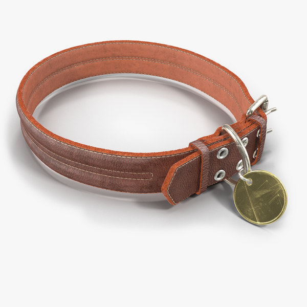 dog collar 3d max