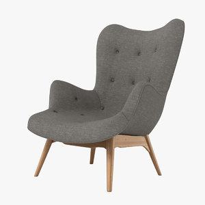grant featherston contour chair obj