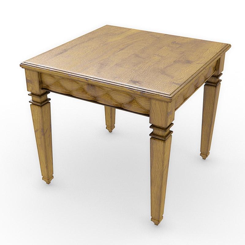 bakokko group table 3d model