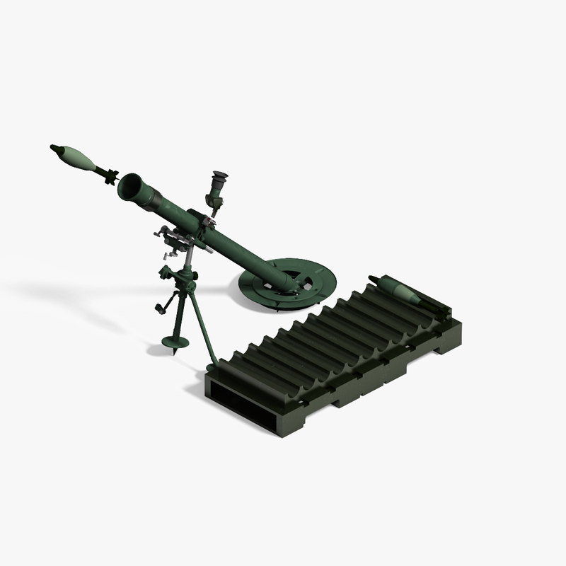 81mm mortar m224 obj