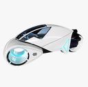 futuristic cycle 3D models