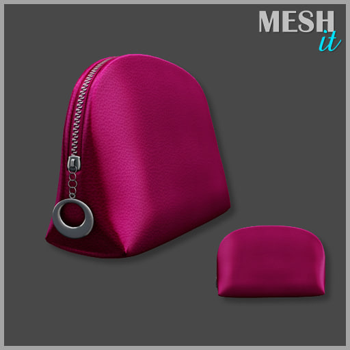 purse cosmetic 3d 3ds