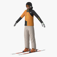Freestyle Skiing Player