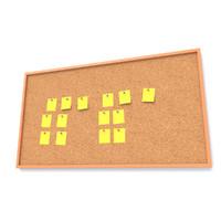 3d cork board model