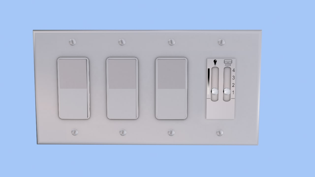 3d light switch