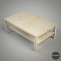 IKEA Inspired Lack Coffee table, Multi Color - 118x78x45cm