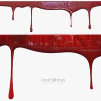 Linear Spill Drops