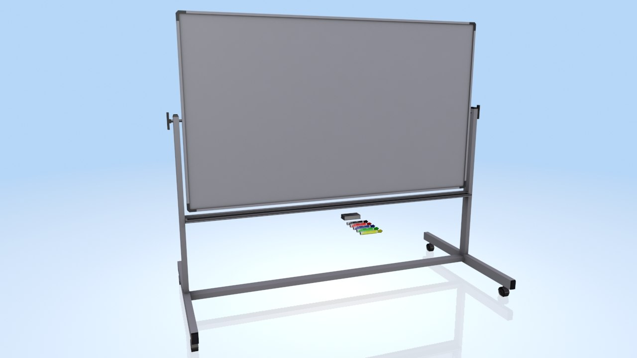 3d white board markers