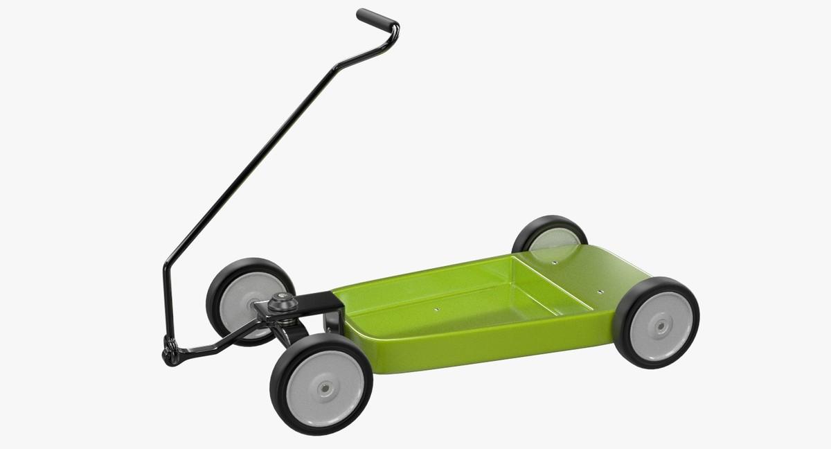 radio flyer wagon 3d model