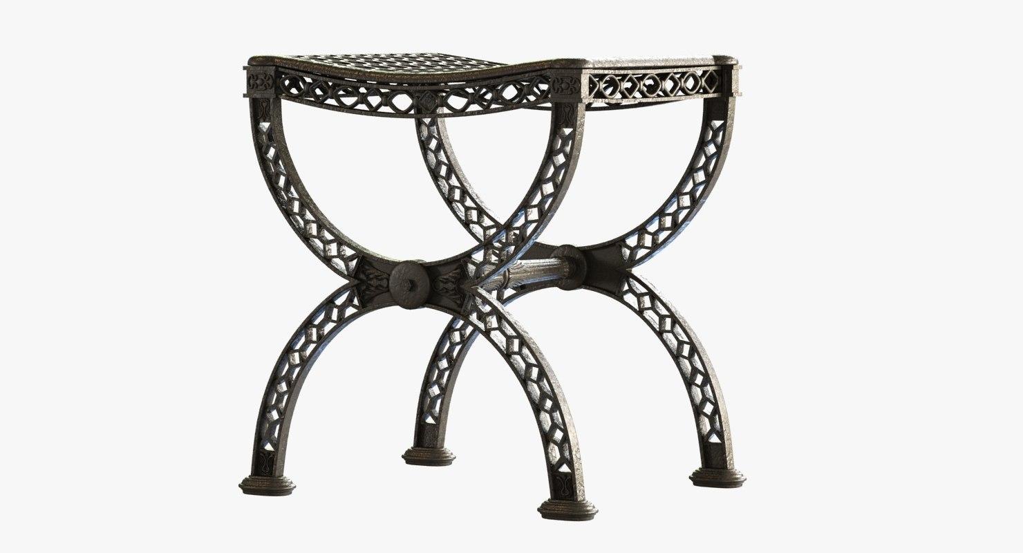 max cast iron stool restoration