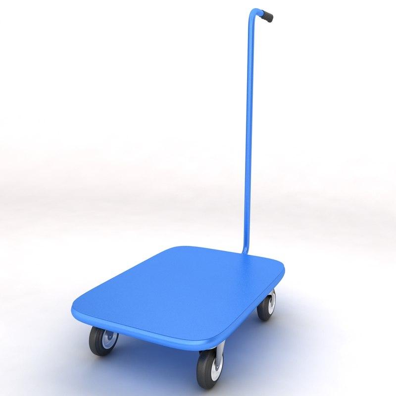 luggage trolley max