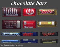 chocolate bars Game models