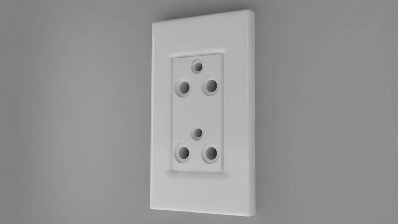 3d power socket type o