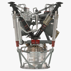 rocket engine 2 3d ma