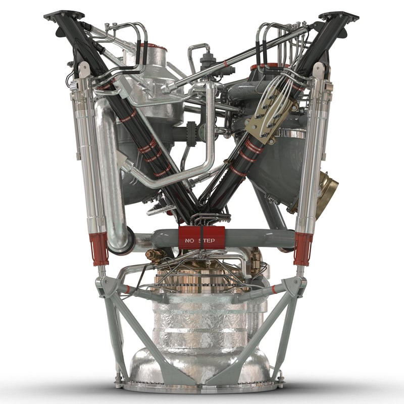 rocket engine 2 3d ma