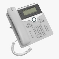 3d cisco ip phone 7841
