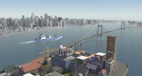 coastal city urban 3ds
