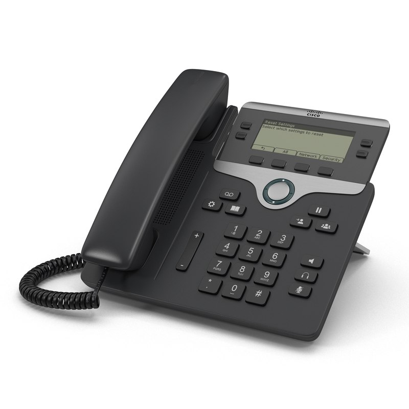 max cisco ip phone 7841