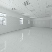 science lab interior scene 3d max