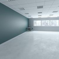3d base interior shop office scene
