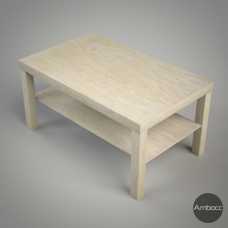 3d ikea lack coffee table