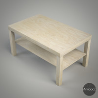 IKEA Inspired Lack Coffee Table, Multi Color - 90x55x45cm