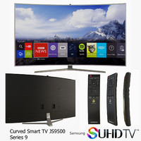 SUHD 4K Curved Smart TV JS9500 Series 9