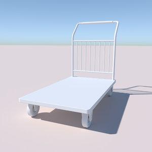 obj platform cart
