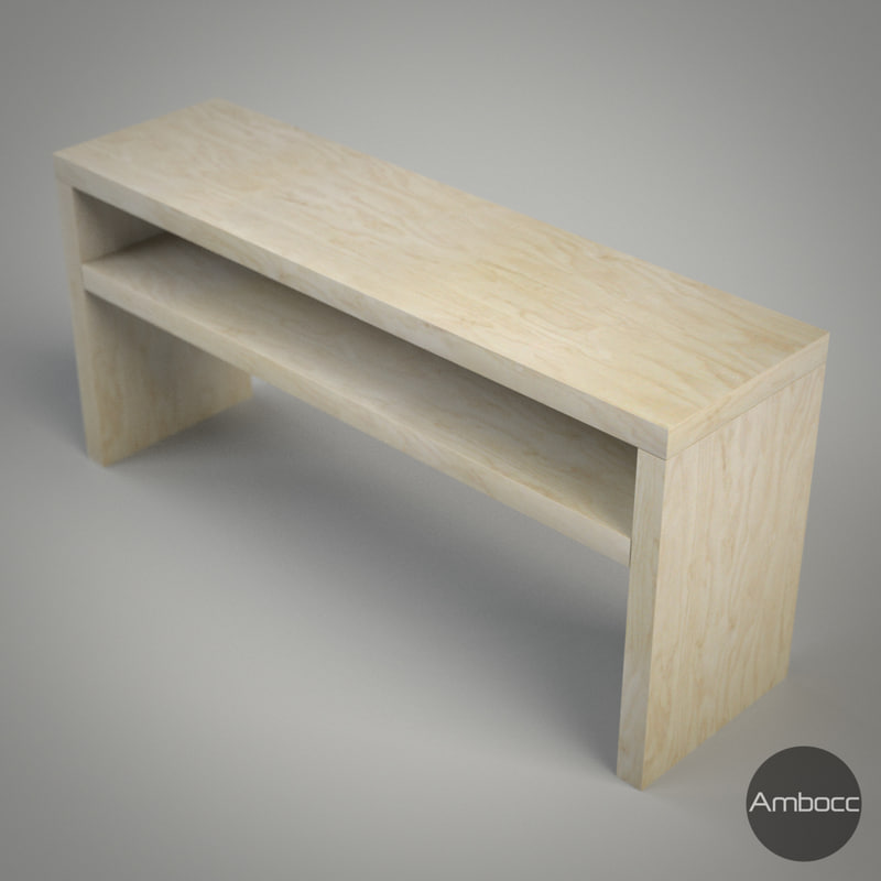 3d model ikea lack sofa table