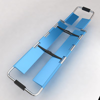 hospital stretcher bed equipment 3d max
