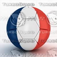 3d euro 2016 france ball