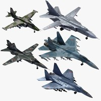 Russian Tactical Fighters x5