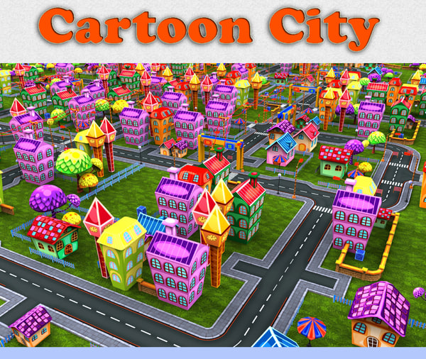 cartoon city toon 3ds