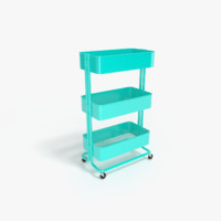 kitchen utility cart obj