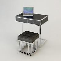 eichholtz equinox desk 3d model