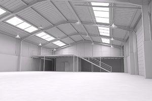 warehouse scene obj