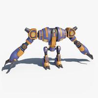 robot giant 3d model