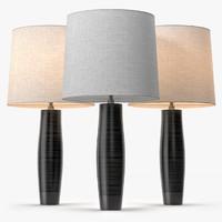 leather lamp 3d model
