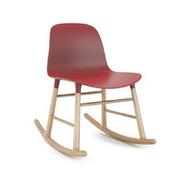 3d model form rocking chair