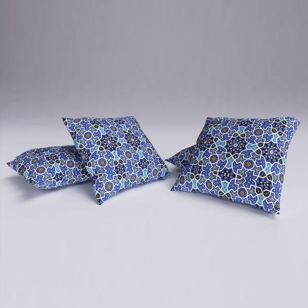 cushion 3d max
