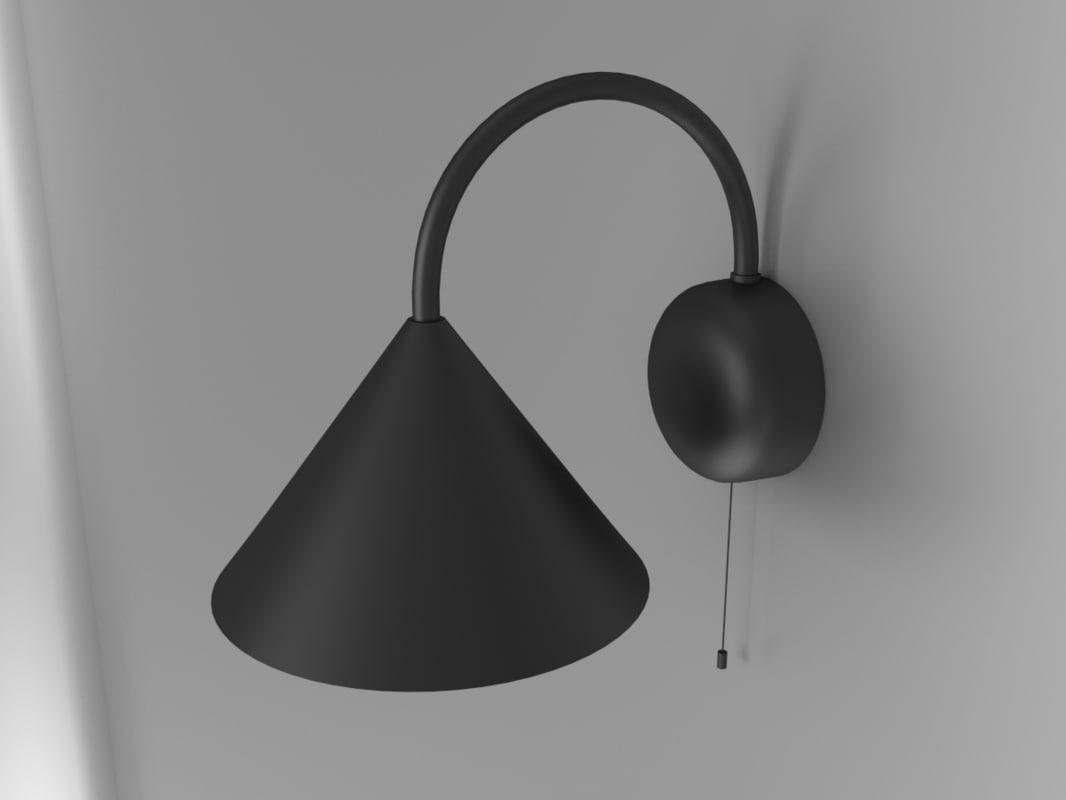 wall lamp obj free