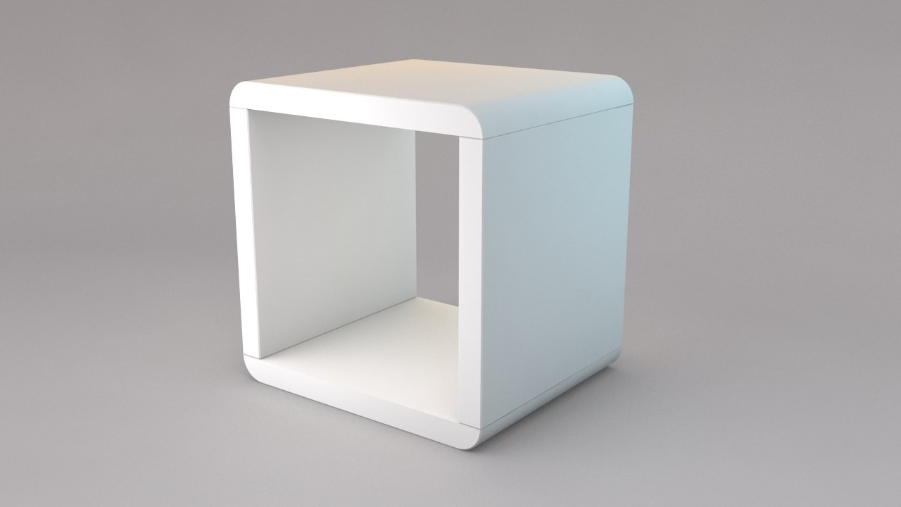piece box 3d model