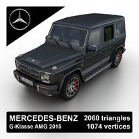 3d 2015 mercedes-benz g-klasse amg