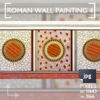 Roman Wall Painting Scheme 4