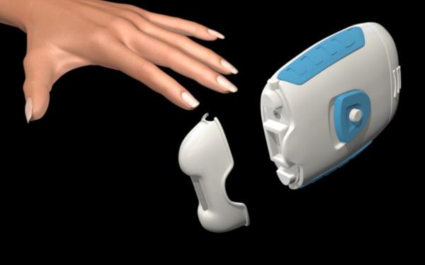 manicure nails filer c4d