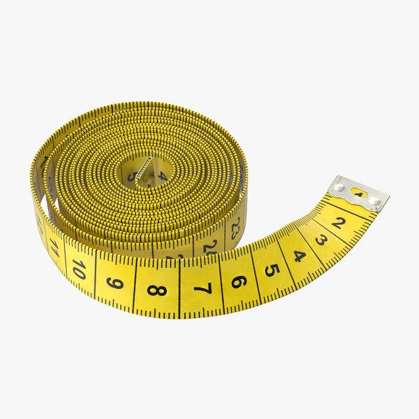 tape measurer 01 3d model