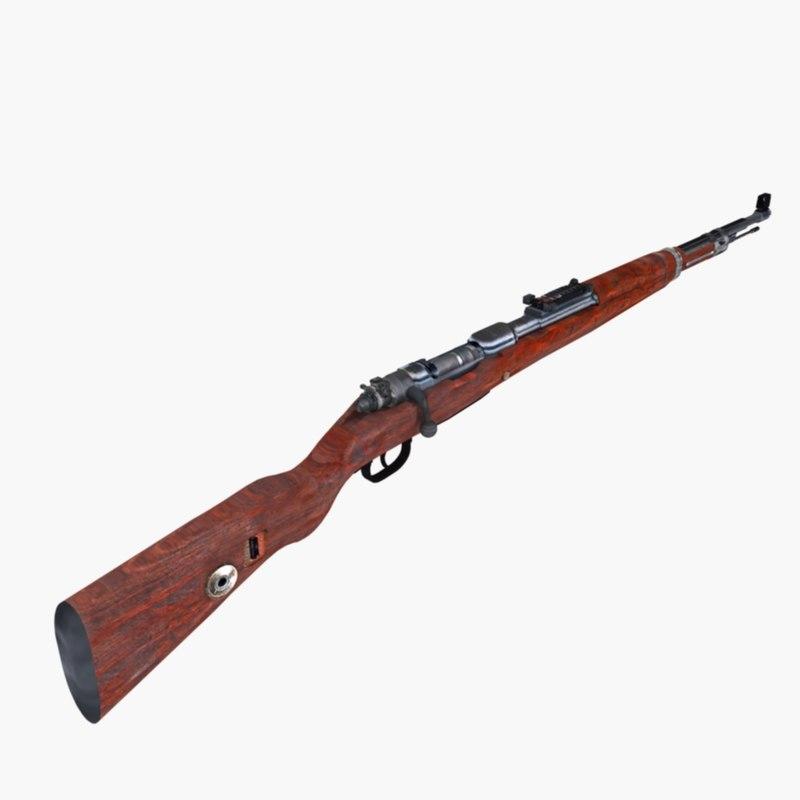 98 rifle 3d 3ds