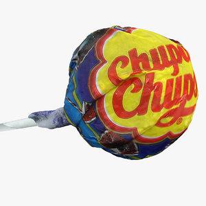 3d chupa chups